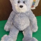Omega Toy Blue Cuddle Bear Soft Stuffed Plush 9""