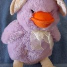 Purple Duck Squishy Soft Classics Stuffed Plush 12""