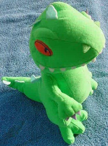 "Reptar Rugrats Dinosaur Dragon Stuffed Plush 9"" Nanco"