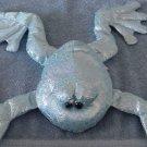 "Bestever Croaking Blue Shiny Frog Stuffed Plush 12"""
