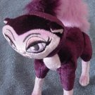 Bratz Petz Bobble Head Purple Cat Posable Stuffed Plush