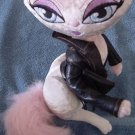 Bratz Petz Leather Jacket Cat Posable Stuffed Plush 10""