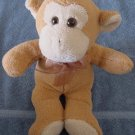 Circus Circus Cute Tan & Beige Monkey Stuffed Plush 12""