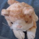 "Prima Creations Orange Tabby Cat Stuffed Plush 8"""