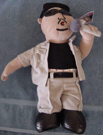 "Homies Ice Block Hip Hop Rapper Stuffed Plush 14"" Tag"
