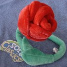 Soft Classics Bendy Stem Rose Flower Stuffed Plush 21""
