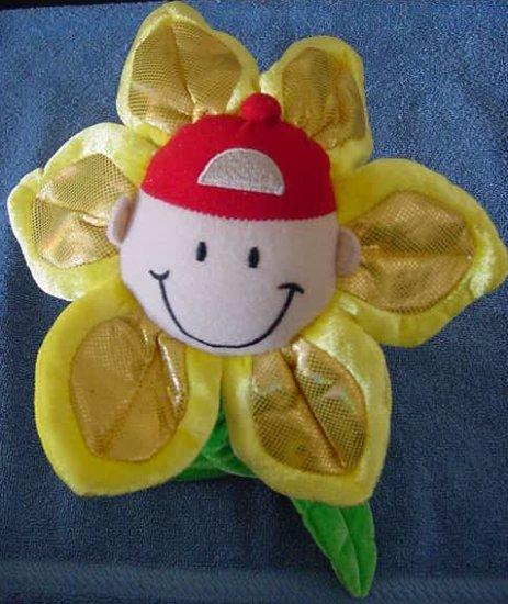 "Animal Alley Bendy Stem Boy Flower Stuffed Plush 24"""
