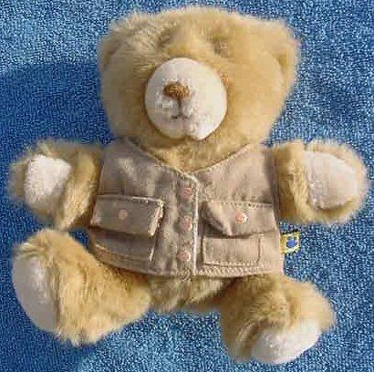 "Hasbro Build a Bear Workshop Vest Stuffed Plush 6"""