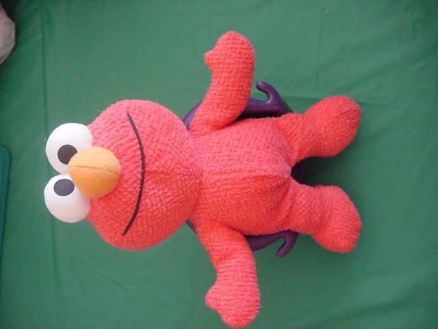 "1st Pal Elmo Muppet Sesame Street Stuffed Plush 10.5"""