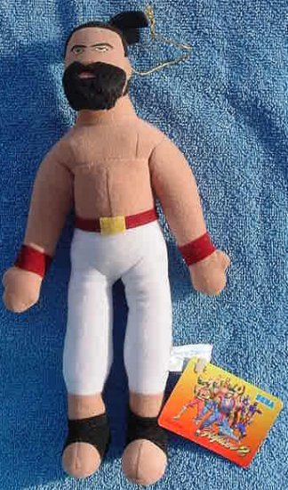 Virtua Fighter 2 Jeffrey UFO Catcher Doll Tag 1995 #2