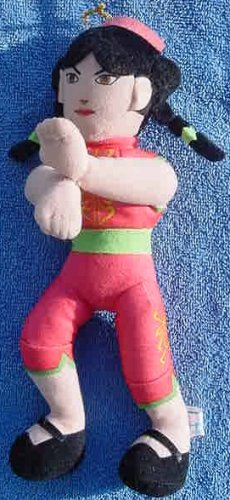 Virtua Fighter 2 Pai Girl Plush UFO Catcher Doll #2