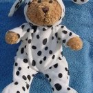 Bear in Dalmatian Dog Costume Stuffed Plush 8""