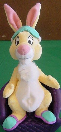 "Winnie Pooh Bed Time Rabbit Beanie Stuffed Plush 7"""