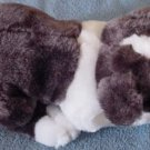 Calplush Brown & White Hound Dog Stuffed Plush 10""