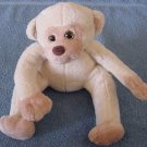 "Circus Circus Casino Beige Monkey Stuffed Plush 6"""