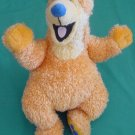 "Orange Bear Big Blue House Stuffed Plush 7"" Applause #2"