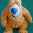 "Orange Bear in Big Blue House Stuffed Plush 8"" Mattel"