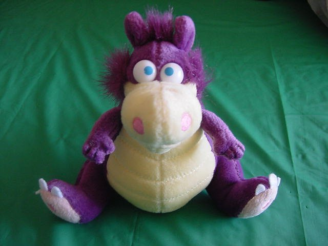 Purple Beebo Dragon Jimmy Dabble Frans Vischer Plush