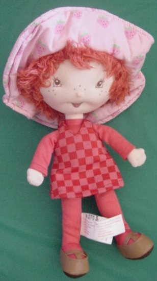 "Strawberry Shortcake Scented Doll Stuffed Plush 10"""