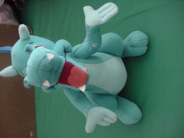 "Tale of Tillie's Dragon Blue Stuffed Plush 8"" Stribling"