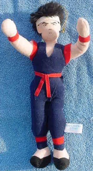 Virtua Fighter 2 Akira UFO Catcher Doll 1995