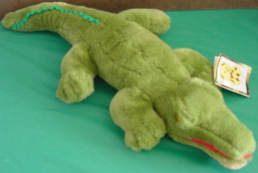 Kellytoy Crocodile or Alligator Tag Stuffed Plush 19""
