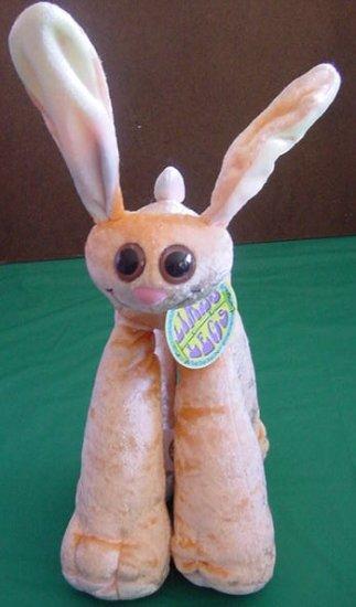 """Limbo Legs Ben the Bunny Stuffed Plush 9"""" Jakks 2000"""