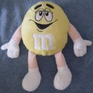 "M&M's Candy Yellow Guy Stuffed Plush 11"" Peanut"