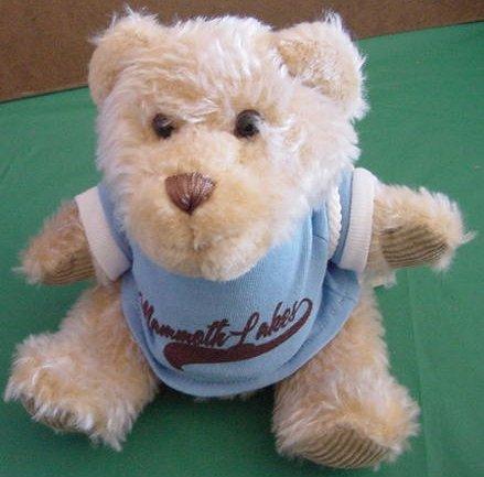 "Mammoth Lakes CA Bear First & Main Stuffed Plush 6.5"""