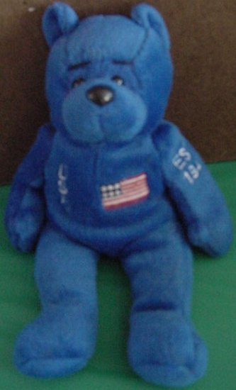 USAF United States Air Force Blue Bear Beanie Plush 6""
