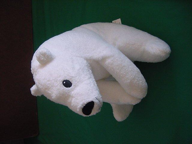 Big Bear Little Bear White David Bedford Stuffed Plush