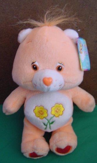 "Care Bears Friend Bear 2002 TCFC Stuffed Plush 8"""