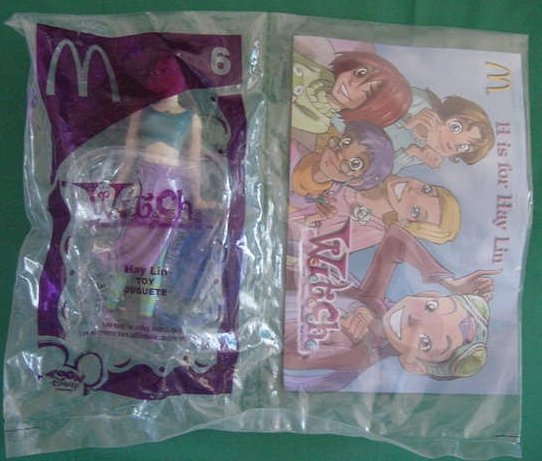 McDonald's W.I.T.C.H. Witch Hay Lin #6 MIP