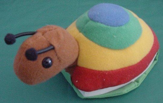 """Slow Snail Toddler Honey Bear Books Stuffed Plush 6"""""""