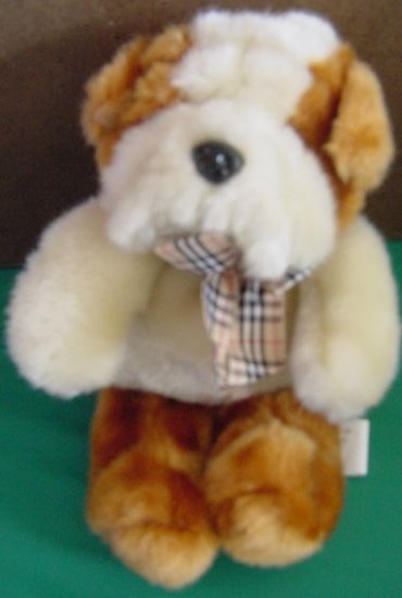 Circus Circus Brown & White Hound Dog Stuffed Plush