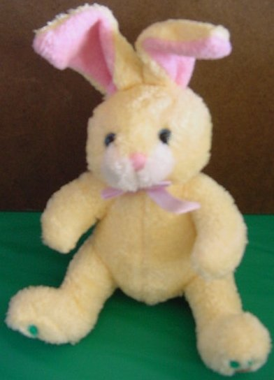 Galerie GAC Yellow Bunny Rabbit Carrot Stuffed Plush