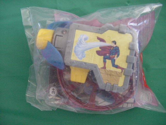 Burger King Superman Returns Super Breath Blaster MIP