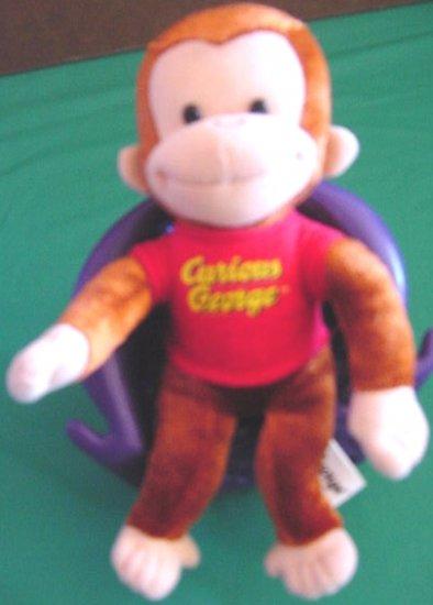 "Curious George Monkey Kellytoy Stuffed Plush 8"" Classic"