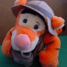 Disney World Tigger Safari Pith Helmet Beanie Plush 8""