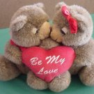 Joelson Be My Love Kissing Bears Magnet Stuffed Plush