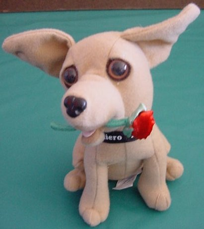 Applause Taco Bell Chihuahua Talking Love Dog Plush 6""