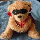 AGC Inc Masked Brown Bear Casanova Stuffed Plush 6""