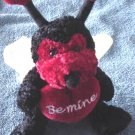 Atico Be Mine Love Bug Valentine Stuffed Plush 5""