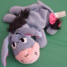 Mattel Pooh's Friend Eeyore Laying Down Beanie Plush 7""