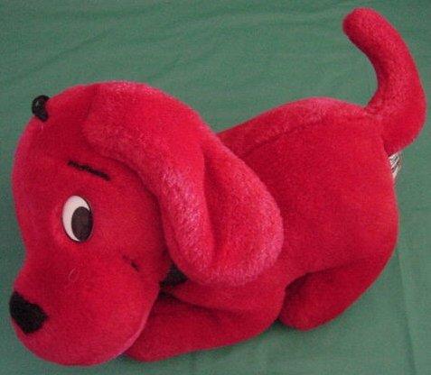 "Clifford Big Red Dog Stuffed Plush 8"" Side Kicks"