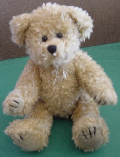 Unipak Jointed Light Brown Bear Stuffed Plush 8""