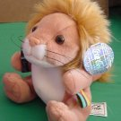 "Coca Cola Int Masa Lion Beanie Plush Mozambique 5"" Tag"