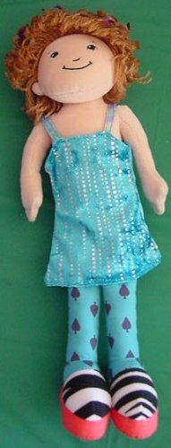 Groovy Girls Talli Blue Dress Stuffed Plush Doll