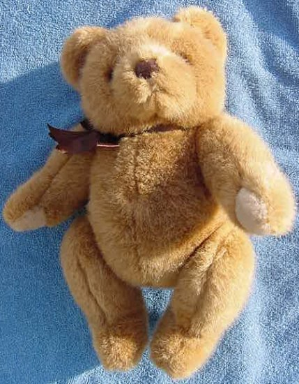 Mervyn's Playful Pals Brown Jingle Bear Plush 8""