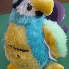 Kellytoy Caribbean Stud Parrot Poker Ace Stuffed Plush
